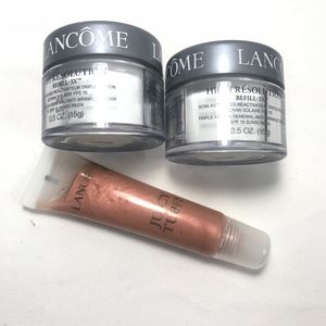 2 Lancome High Resolution Refill 3X & a Juicy Tube